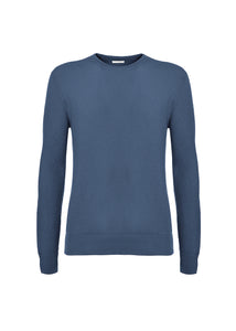 English ribbed crewneck