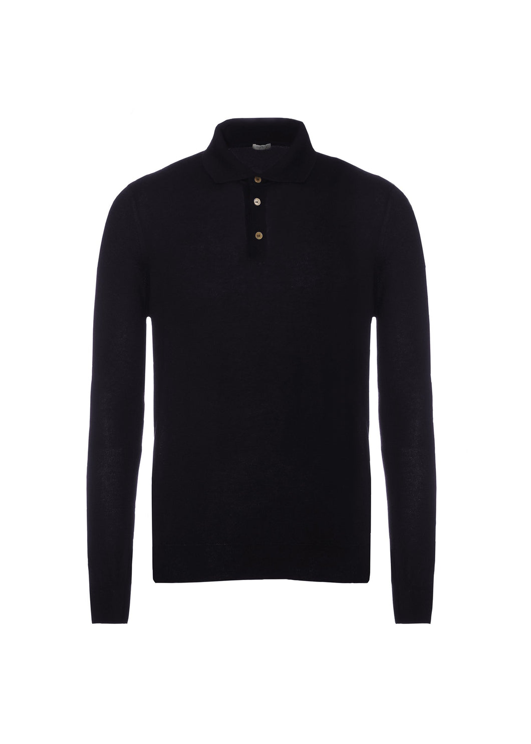 French polo in light cashmere