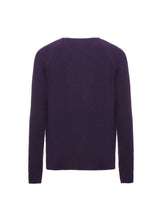 Load image into Gallery viewer, Cashmere half english rib crewneck sweater