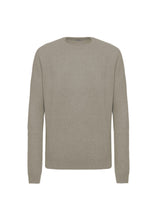 Load image into Gallery viewer, Seal half english rib crewneck sweater
