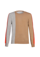 Load image into Gallery viewer, Color block crewneck