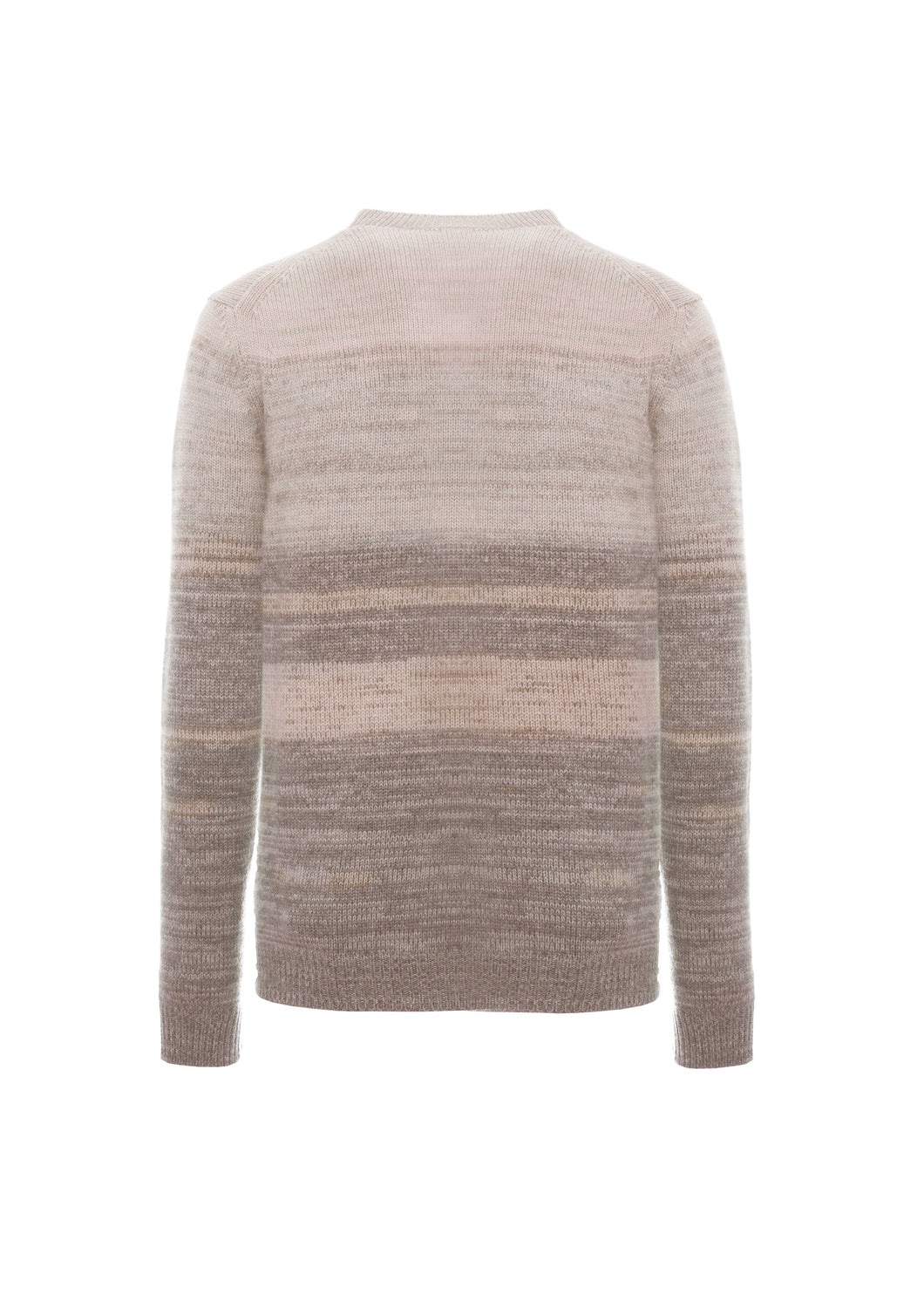 Cashmere mouliné crewneck  - LIMITED EDITION