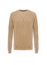 Load image into Gallery viewer, Cashmere chevron crewneck