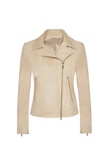 Load image into Gallery viewer, Suede leather jacket