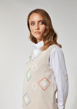Load image into Gallery viewer, Diamond stitch gilet