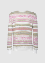 Load image into Gallery viewer, Jacquard crewneck