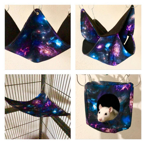 Galaxy Rat Hammock Set