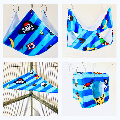 Pirate Rat Hammock Set