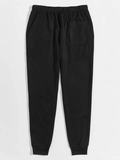 Letter & Striped Side Joggers