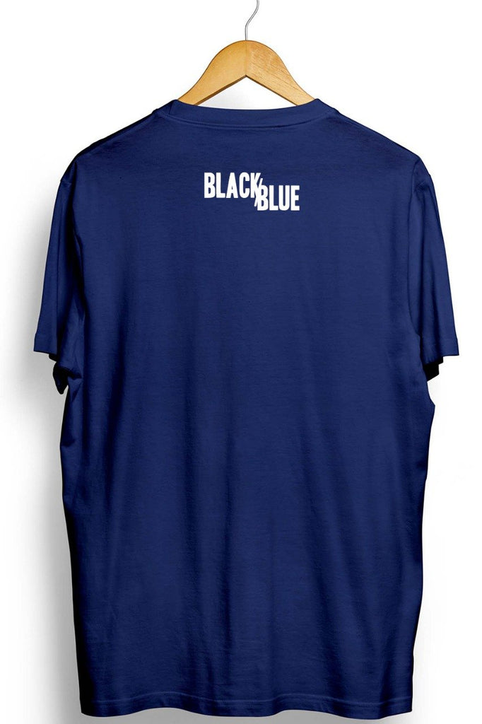 Jugalbandi Graphic Printed Blue Tshirt