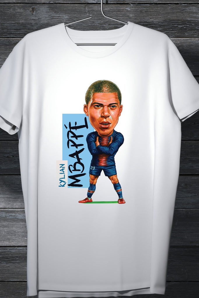 Kylian Mbappe - French Professional Footballer Casual Tee