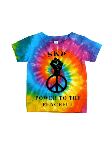 Power 2 the Peaceful Tie Dye T-Shirt