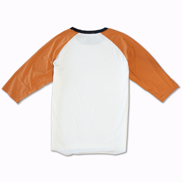 Leon in Orange & White Supima Cotton
