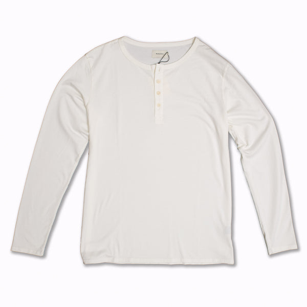 Basis Henley Off White