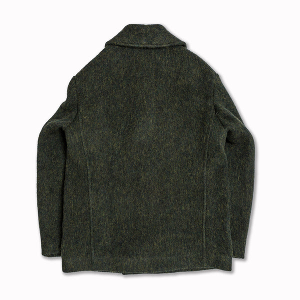 AADELAIDE in green virgin wool