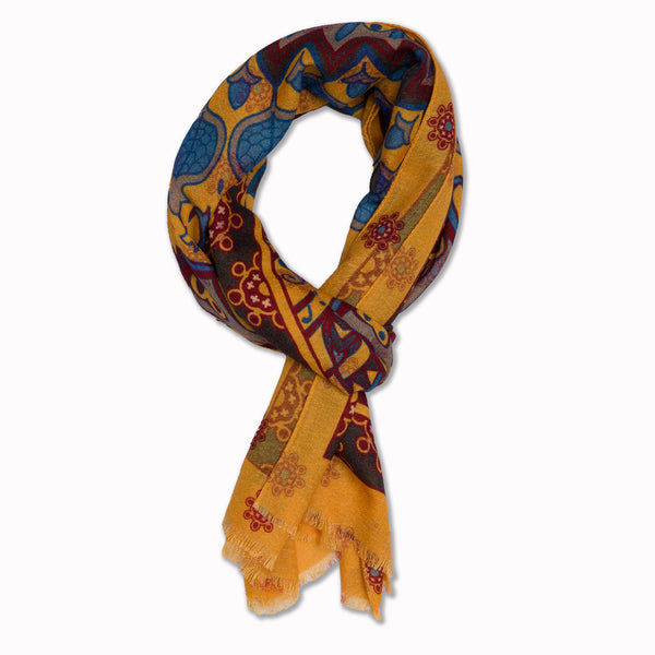 Scarf Parsifal in Yellow
