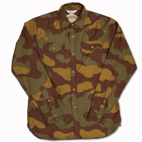 Neppy camo CPO shirt