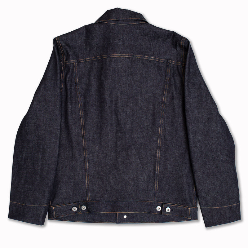 Ridgeline Supply jacket in Indigo denim