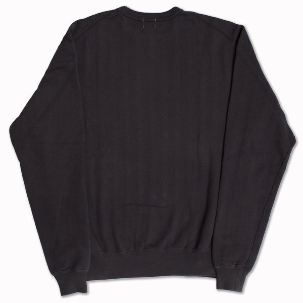 Cotton sweatshirt in vintage Black