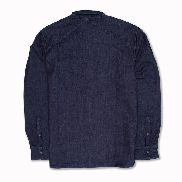 Crosscut Western Knit in Indigo