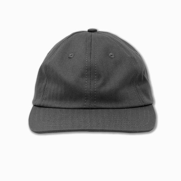 6-Panel cap in Charcoal HBT