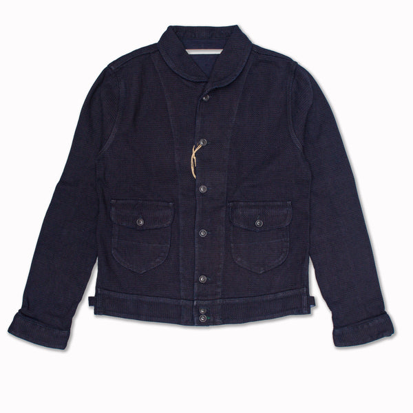 Cowboy jacket in indigo