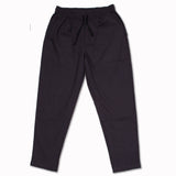 Drawstring pant in smoke
