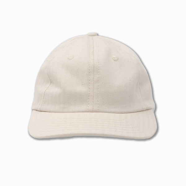 6-Panel cap in Natural HBT
