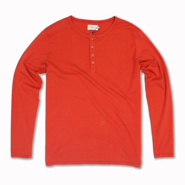 Basis Henley Blood Orange