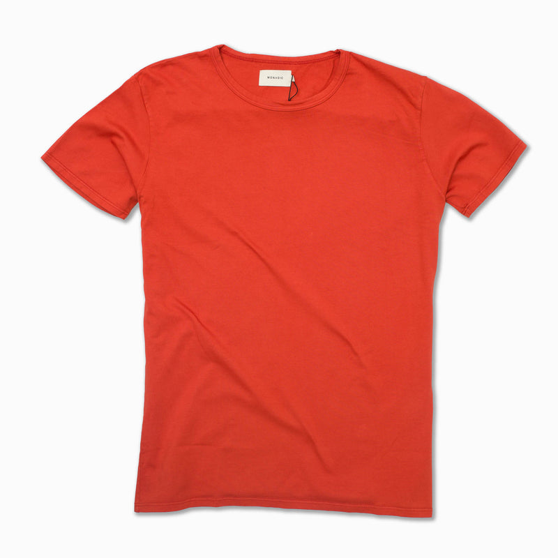Basis Tee in Blood Orange