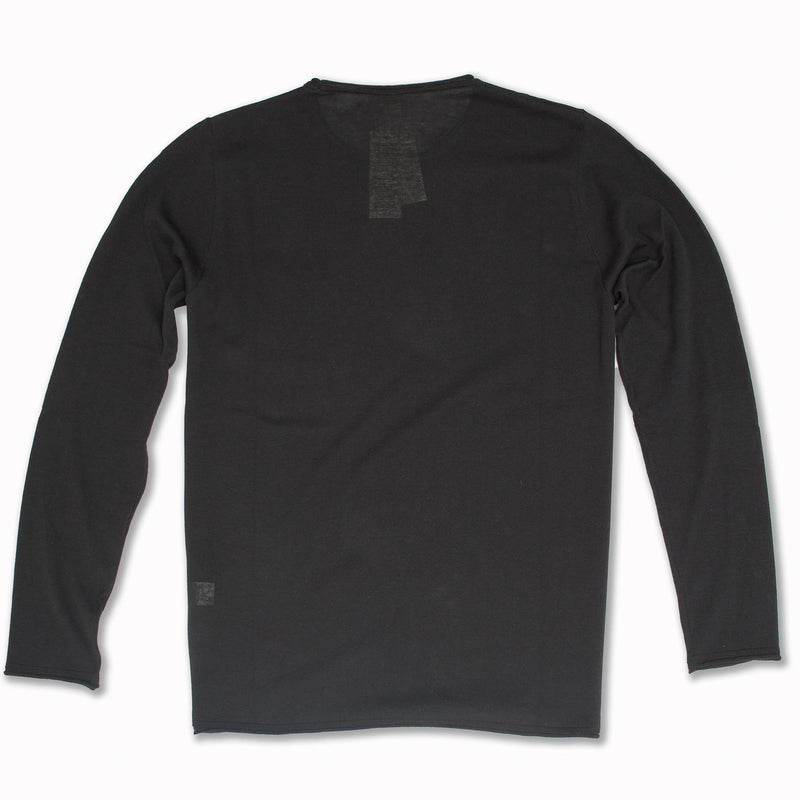 Long Sleeve Pullover in Antracite