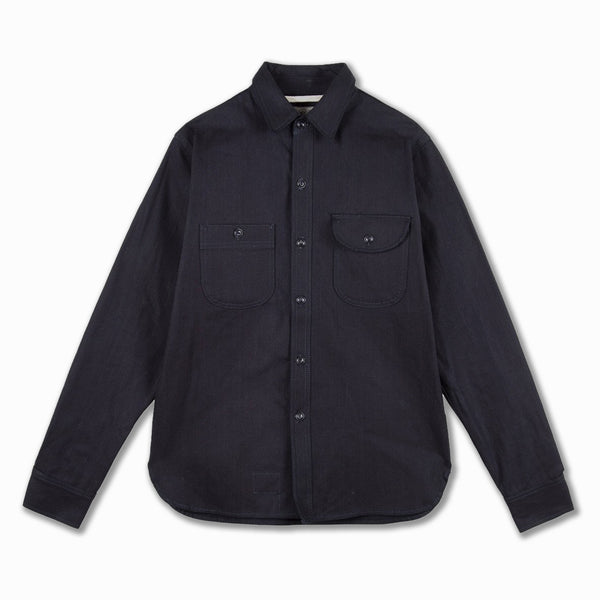 Work Shirt Indigo Selvedge Canvas (ISC) in Indigo