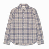 Jumper Shirt in Linen/Cotton Plaid