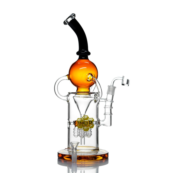 Honey Dew dab recycler rig
