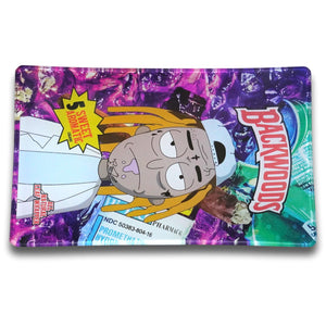 Backwoods Clout Rick Glass Rolling Tray