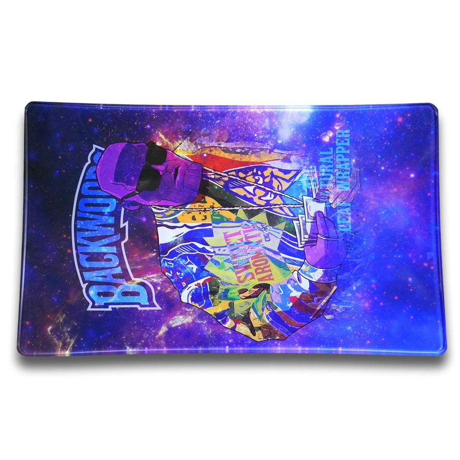 Backwoods thanos glass rolling tray