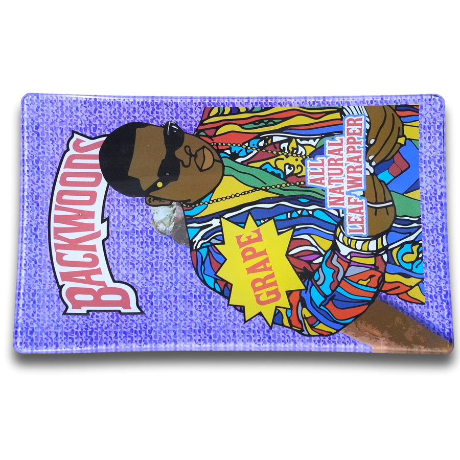 Backwoods Biggie glass rolling tray