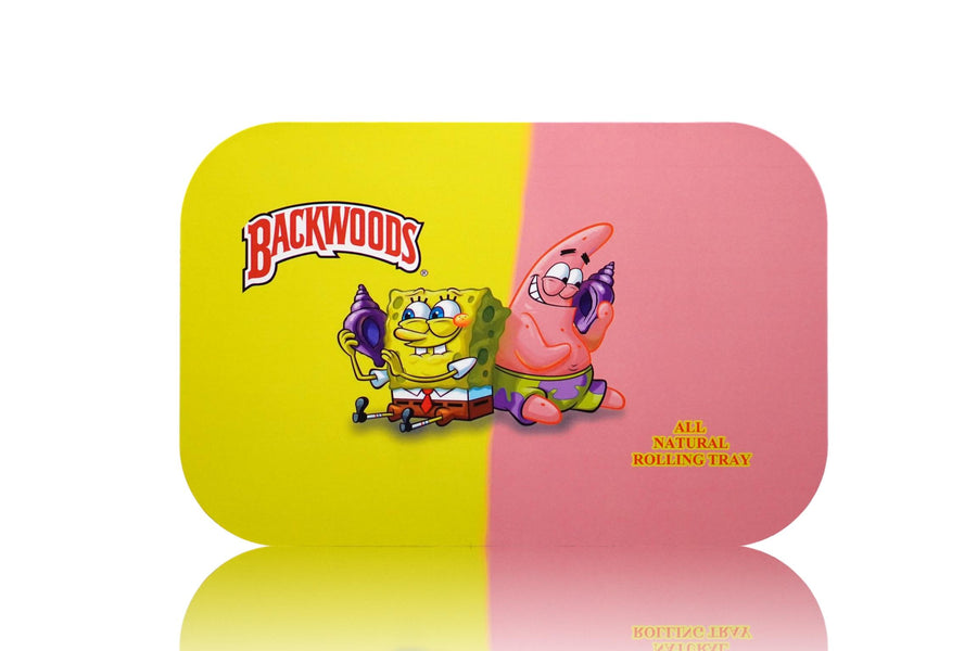 Large spongebob magnetic lid rolling tray