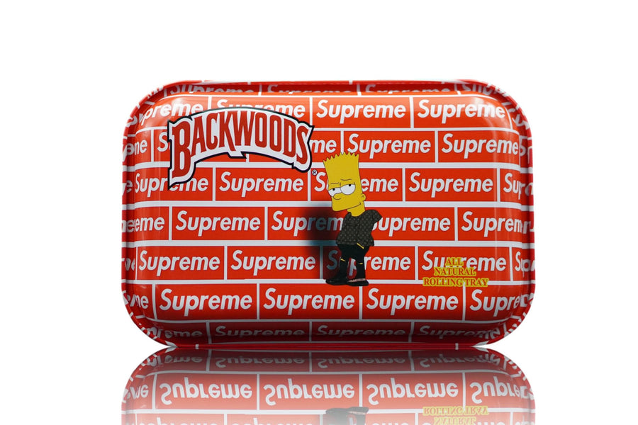 Large supreme magnetic lid rolling tray