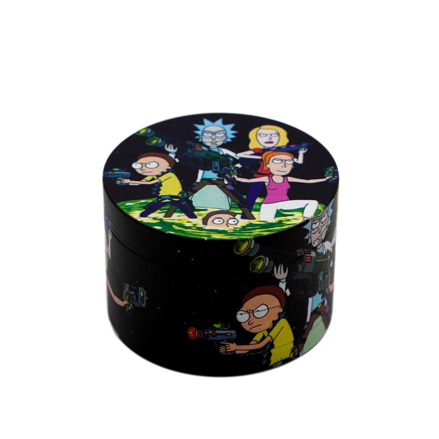 63MM Rick And Morty Painted Grinder