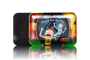 Small RM Keep On Rolling 3 Side Printed Magnetic Lid Tray