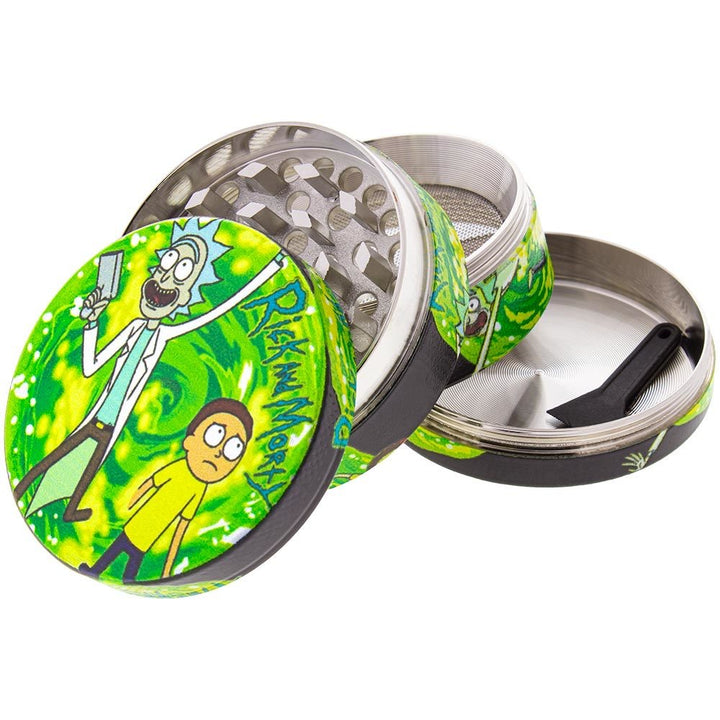 63MM Rick & Morty Aluminum Grinder