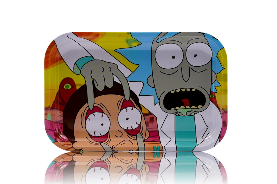 Eyes Open Morty 3-Sided Magnetic Lid Tray
