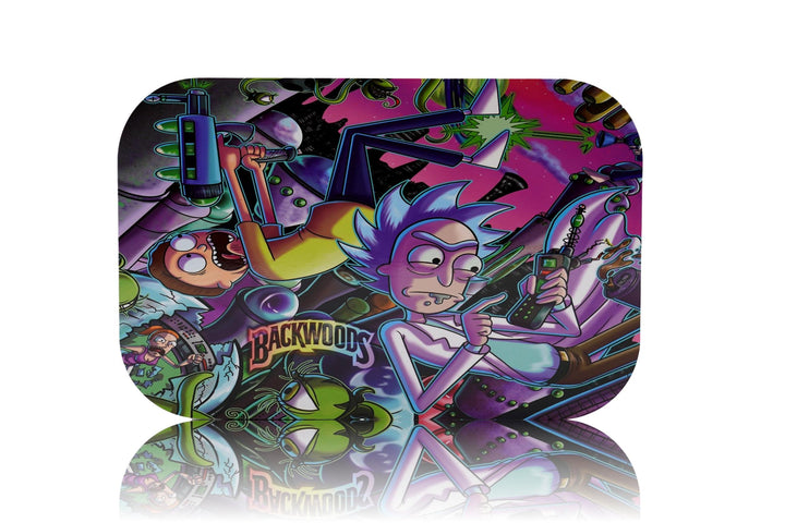 Rick & Morty 3-Sided Magnetic Lid Tray