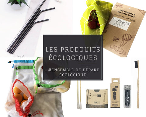 Use reusable and organic products