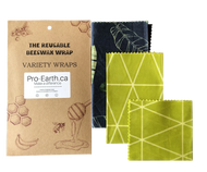 Beeswax wraps reusable and compostable alternative