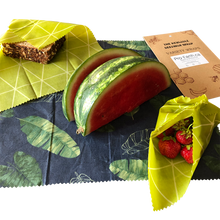 Load image into Gallery viewer, Beeswax wraps reusable and compostable alternative