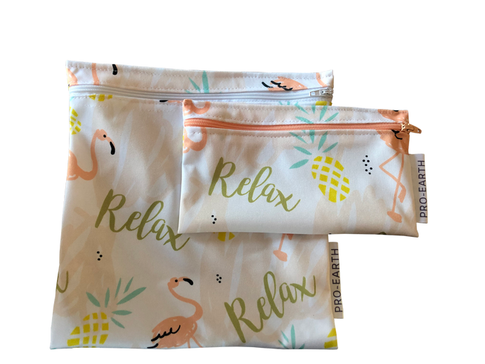 Reusable bags - set of 2 locally made