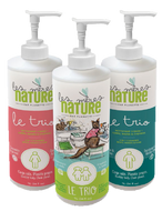 3 in 1, hand, body and hair - Planette products