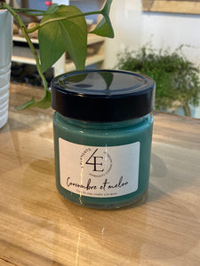 Hand Poured Soy Wax Candles - 4 Éléments (many fragrances)